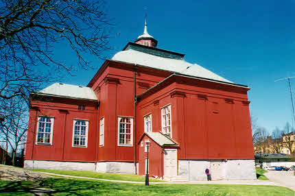 Amiralitetskyrkan Ulrica Pia Karlskrona